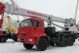 Аренда автокрана 32 тонны в Перми