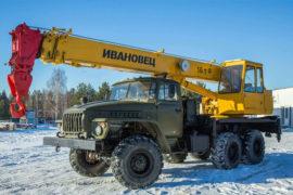 Заказать автокран 16 тонн в Перми
