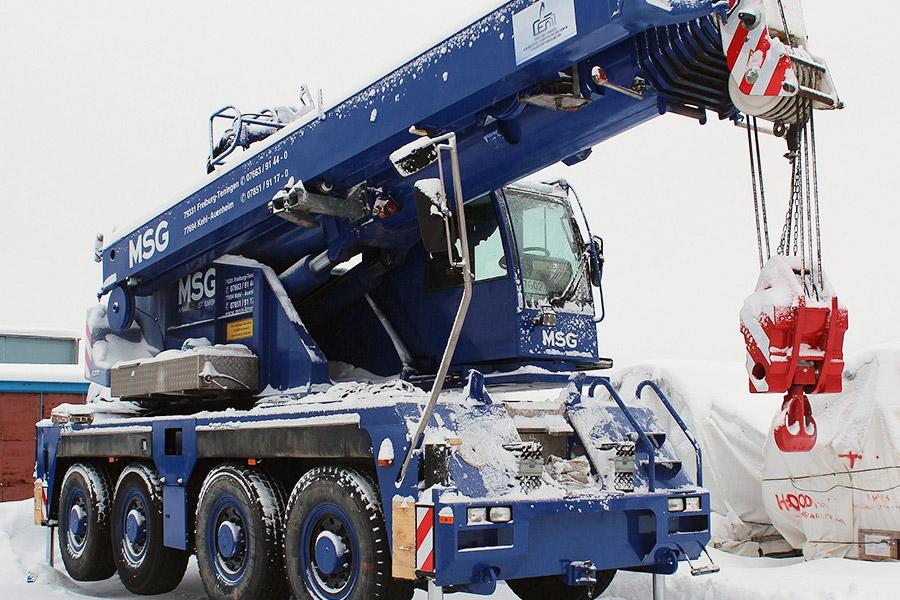 Заказать автокран 60 тонн в Перми