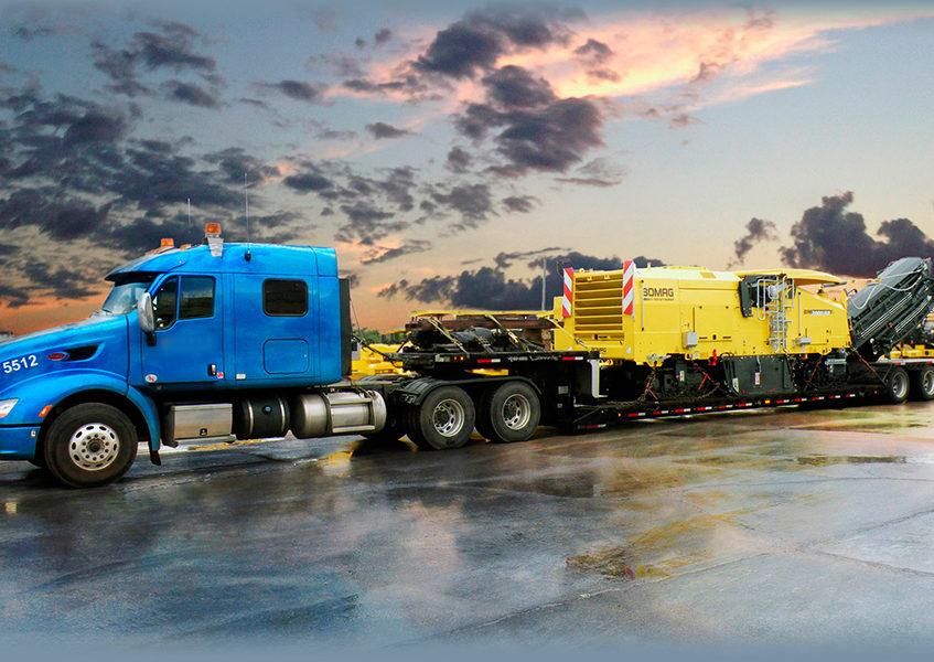 Перевозка спецтехники и других негабаритных грузов