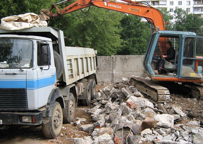 Вывоз строительного мусора в Перми