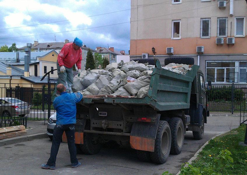 Услуги грузчиков вывоз мусора